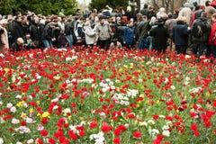 Día de la victoria del 9 de mayo Imágenes de archivo libres de regalías