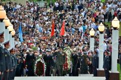Día de la victoria el 9 de mayo Fotografía de archivo