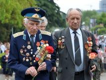 Día de la victoria el 9 de mayo Fotos de archivo