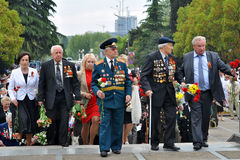 Día de la victoria el 9 de mayo Fotos de archivo libres de regalías