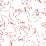 Día de la victoria El pájaro de la paz ilustración del vector