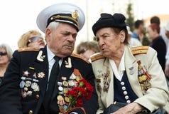 DÍA DE LA VICTORIA EN RUSIA Fotos de archivo