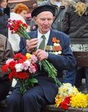 Día de la victoria, Letonia Foto de archivo libre de regalías