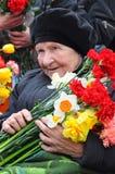 Día de la victoria, Letonia Fotografía de archivo