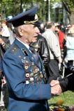 Día de la victoria, Letonia Imagen de archivo