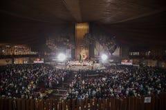 Día de la Virgen de Guadalupe Foto de archivo