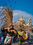 Día de la Virgen de Guadalupe en Ciudad de México fotografía de archivo