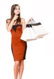 Día de las compras. Imágenes de archivo libres de regalías