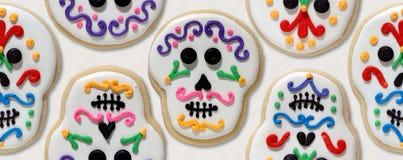 Día de las galletas muertas Fotografía de archivo libre de regalías