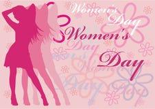 Día de las mujeres Imágenes de archivo libres de regalías