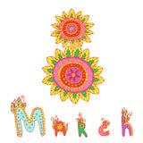 Día 8 de día de las mujeres s de marzo stock de ilustración