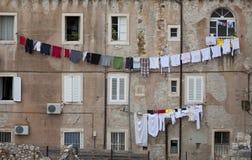 Día de lavado Dubrovnik Foto de archivo libre de regalías