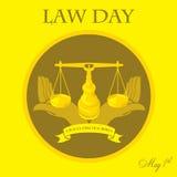 Día de ley Imagen de archivo