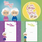 Día de los abuelos Fotografía de archivo