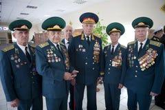 Día de los guardias fronterizos en Cherkassy Fotografía de archivo libre de regalías