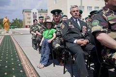 Día de los guardias fronterizos en Cherkassy Fotos de archivo