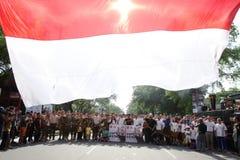Día de los héroes de Indonesia Imágenes de archivo libres de regalías