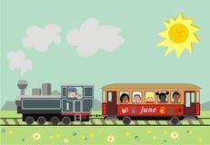 Día de los niños stock de ilustración