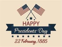 Día de los presidentes Fotografía de archivo
