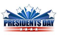 Día de los presidentes ilustración del vector