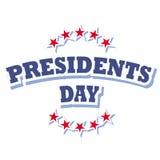 Día de los presidentes Fotografía de archivo libre de regalías
