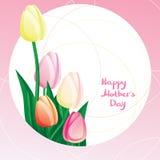 Día de madre del Peekaboo Imagenes de archivo