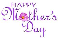 Día de madre feliz stock de ilustración