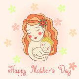 Día de madre feliz Imagen de archivo
