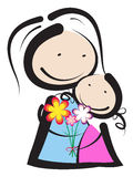 Día de madres Imágenes de archivo libres de regalías