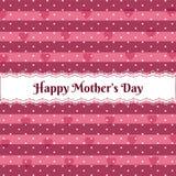 Día de madres feliz sobre modelo lindo ilustración del vector