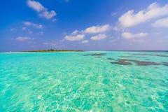 Día de Maldivas tropical foto de archivo libre de regalías