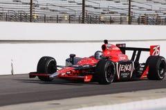 Día de Marco Andretti Indianapolis 500 poste Indy 2011 Imagenes de archivo