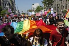 Día de mayo en Estambul Foto de archivo