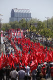 Día de mayo en Estambul Fotos de archivo libres de regalías