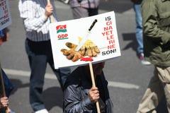 Día de mayo en Turquía Imagen de archivo libre de regalías