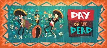 Día de mexicano tradicional muerto Halloween Dia De Los Muertos Holiday Party Fotografía de archivo