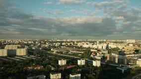 Día de Moscú a la noche