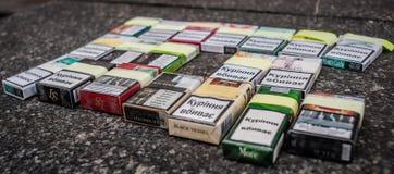Día de no fumadores Imagenes de archivo