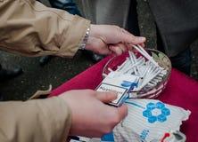 Día de no fumadores Foto de archivo libre de regalías