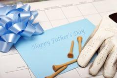 Día de padre feliz Fotografía de archivo