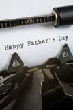 Día de padre feliz Fotos de archivo libres de regalías