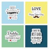 Día de padre feliz ilustración del vector