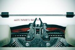 Día de padres feliz Fotografía de archivo libre de regalías