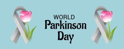 Día de Parkinson del mundo ilustración del vector