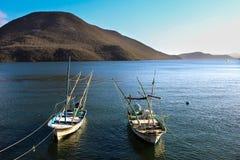 Día de pesca Imágenes de archivo libres de regalías