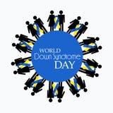 Día de Síndrome de Down del mundo Foto de archivo libre de regalías