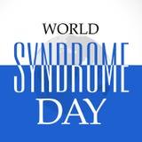 Día de Síndrome de Down del mundo Foto de archivo