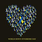 Día de Síndrome de Down del mundo Fotos de archivo