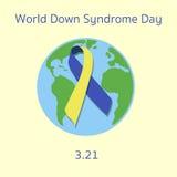 Día de Síndrome de Down del mundo Fotos de archivo libres de regalías