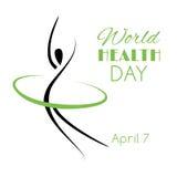 Día de salud de mundo Fotos de archivo libres de regalías